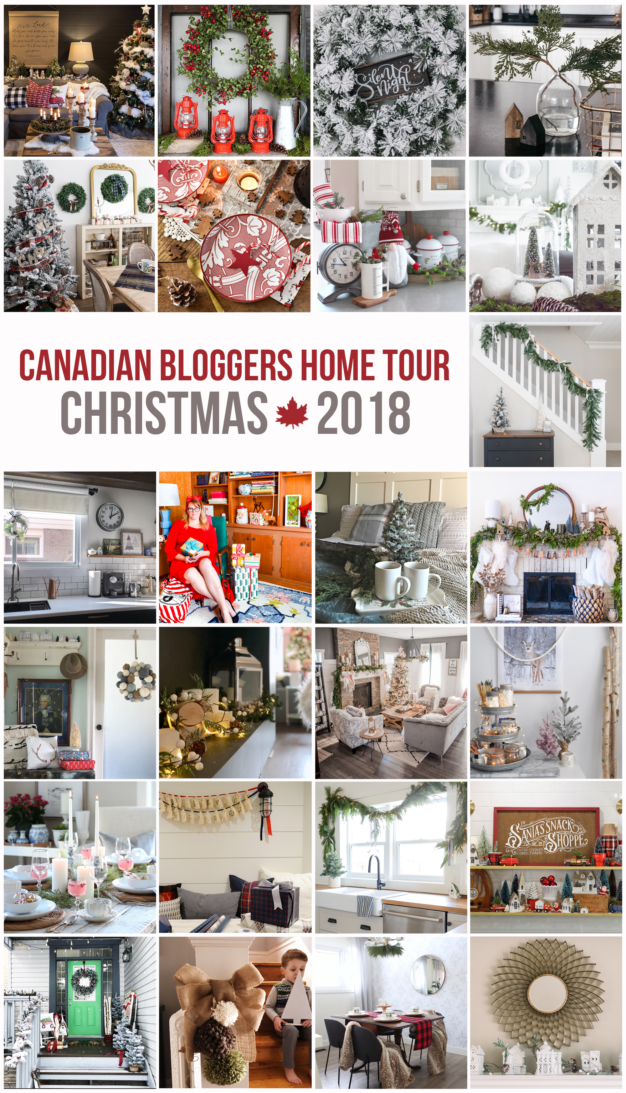 Canadian Bloggers 2018 Christmas Home Tour
