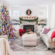Classic Lake House Christmas Home Tour
