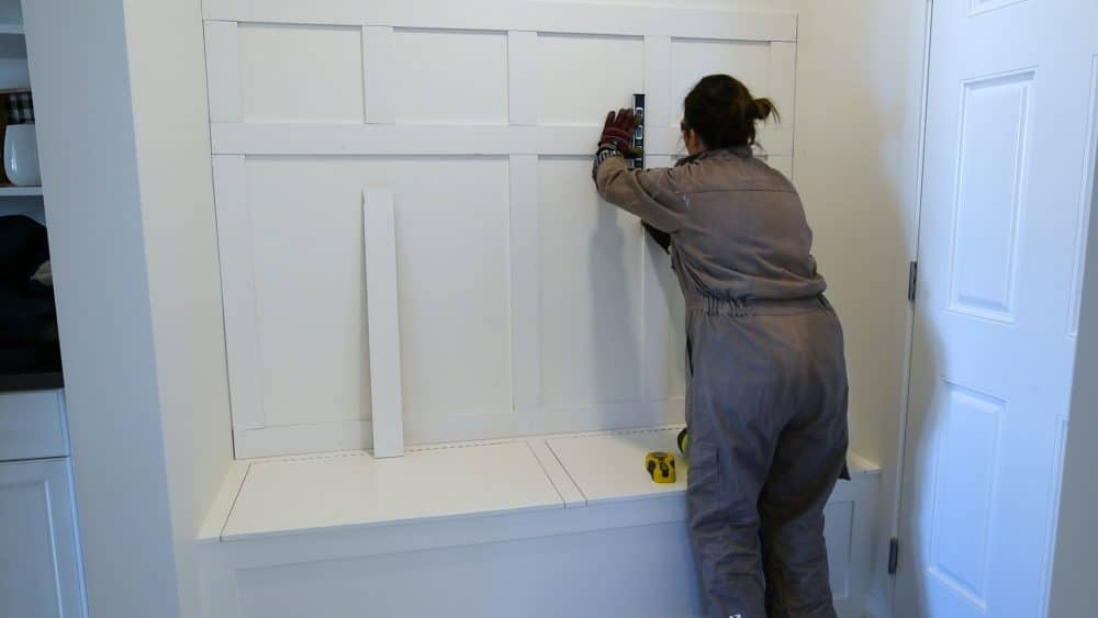 How to Build a Board and Batten Hook Wall Entry