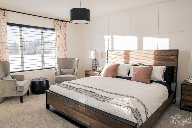 Modern Farmhouse Bedroom Design