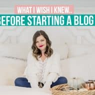 5 Things I Wish I Knew Before I Started My Blog