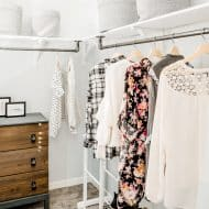 DIY Industrial Closet Makeover on a Budget