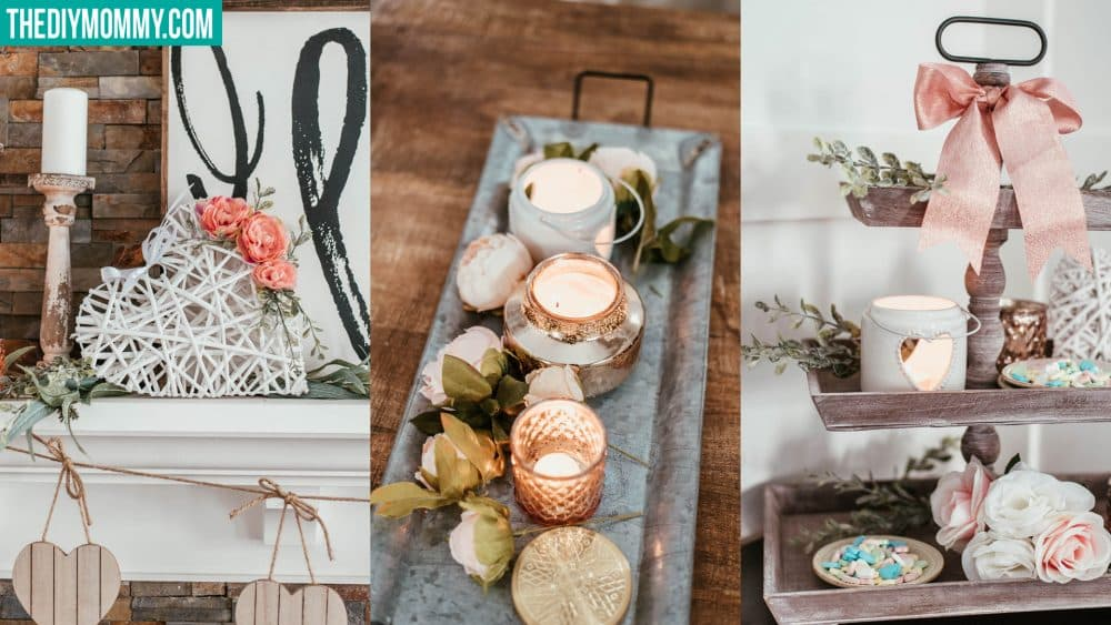 Cozy & romantic Valentine's Day decor ideas on a budget