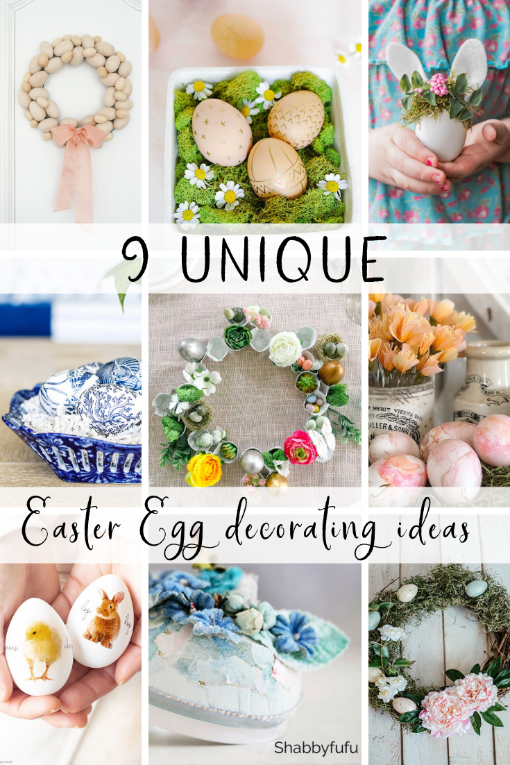 9 unique Easter egg decorating ideas