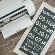 Make a 3D Sign with the Cricut Knife Blade