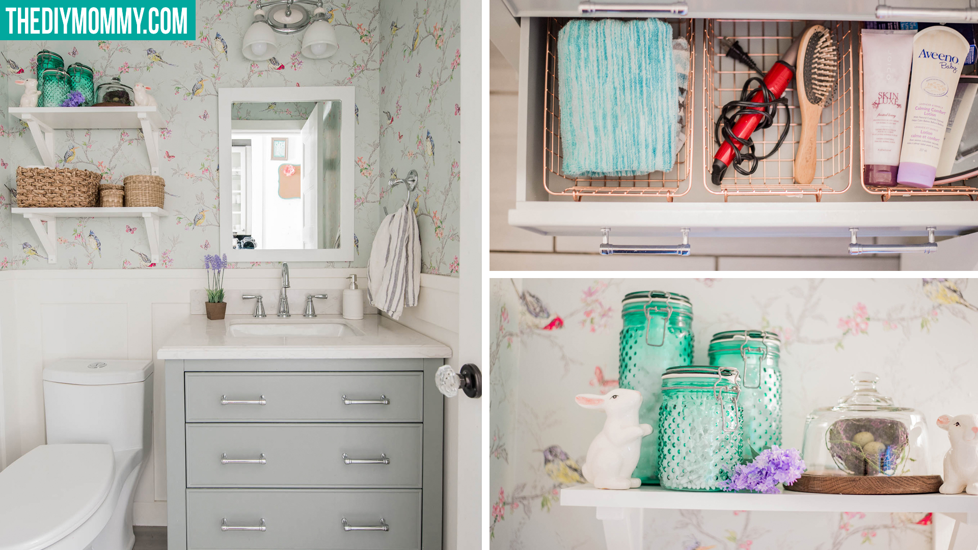 Small Bathroom Organization Decor Ideas From The Dollar