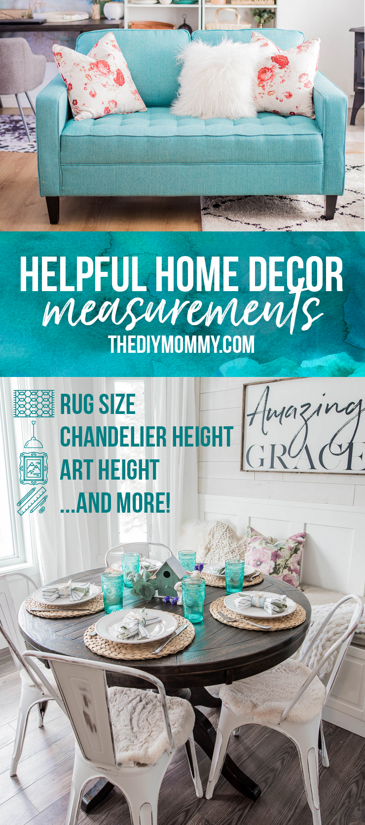 Helpful Home Decor Measurements