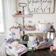 Make a Spring Tea Station
