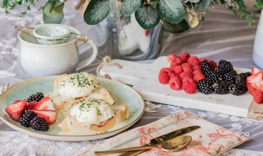 Easy Waffle Eggs Benedict Recipe & Elegant Brunch Ideas