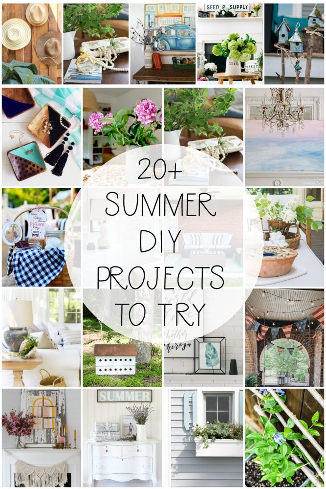 20+ summer DIY projects to try Seasonal Simplicity series