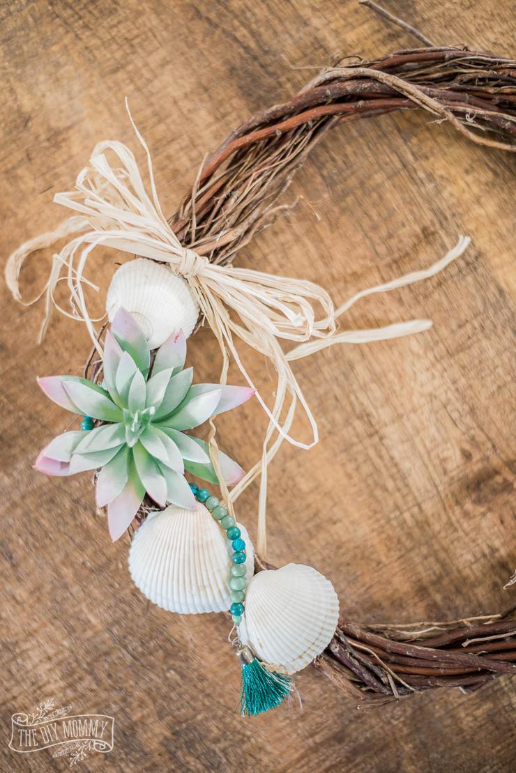 Diy Nautical Dollar Store Wreath For Summer The Diy Mommy