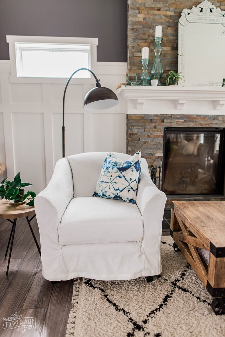 How to Make DIY Slipcovers for Arm Chairs