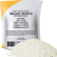 Organic White Beeswax Pellets 1lb