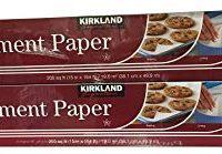 Kirkland Signature Non Stick Parchment Paper