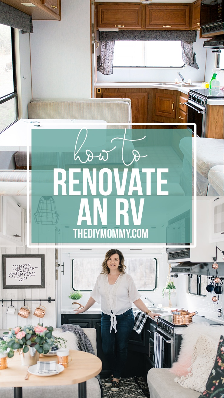 RV Renovation on a Budget - From Start to Finish | The DIY Mommy