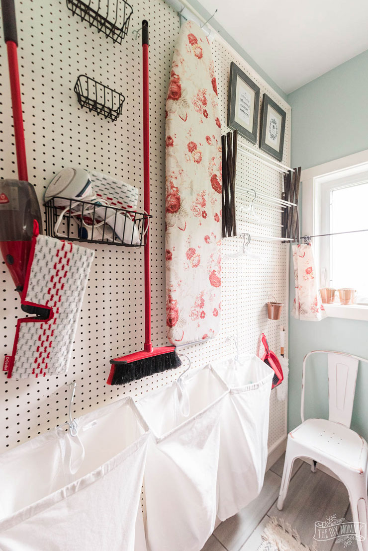 5 Easy Ways to Keep Your Laundry Room Safe & Organized ... on Laundry Room Organization Ideas  id=50160