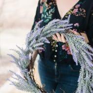 Make a Simple Lavender Wreath