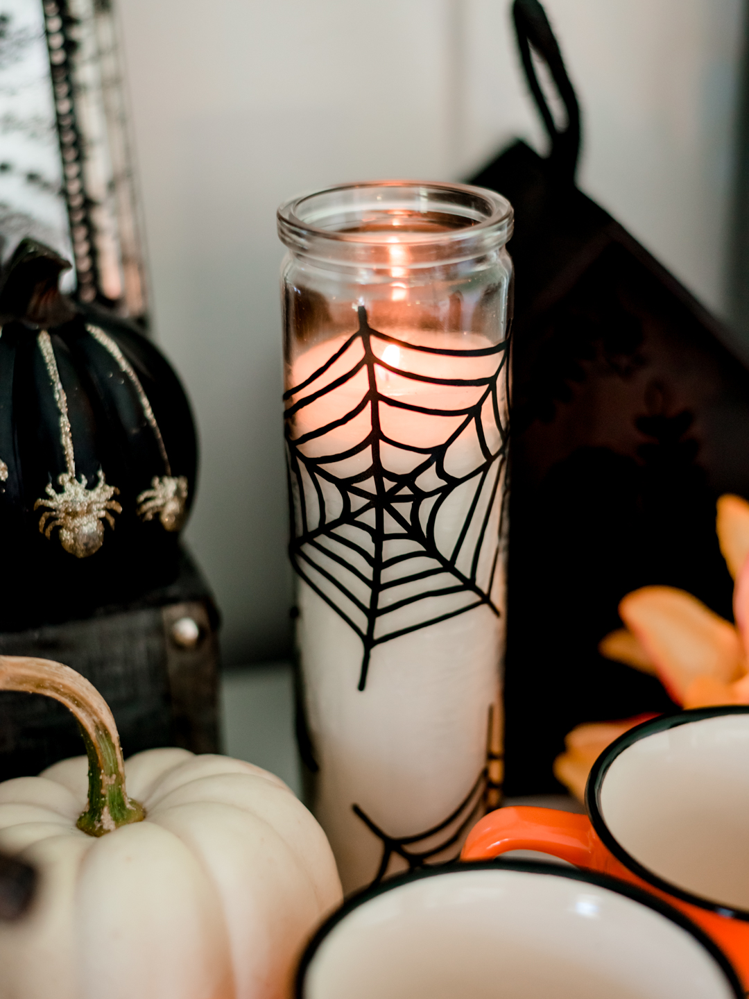 DIY Cricut and Dollar Store Halloween Decor Ideas