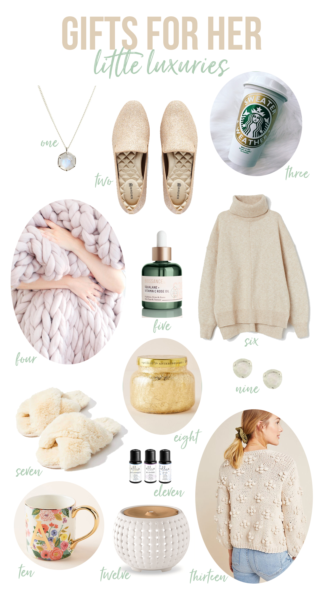 Luxurious Christmas Gift Guide for Her