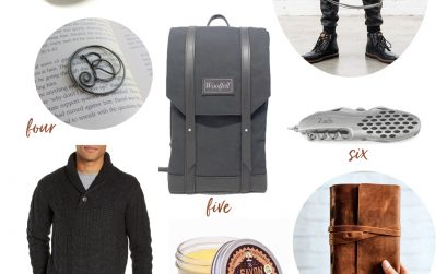 Rustic Christmas Gift Guide for Him
