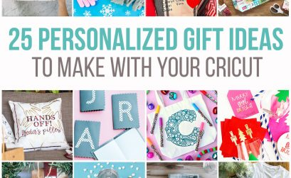 25 beautiful personalized gift ideas to make with your Cricut
