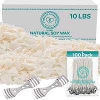 Soy Wax Flakes & Candle Wicks