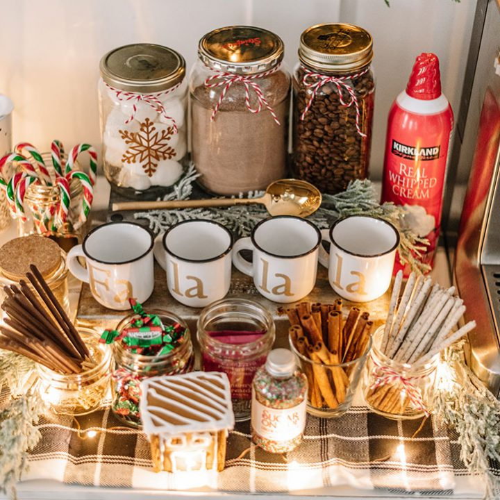 Create an Inexpensive Hot Chocolate Station for Christmas