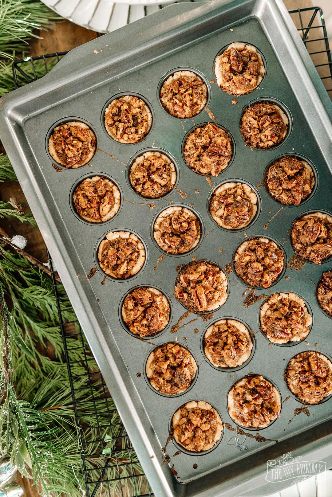 Maple Pecan Tassies Christmas Cookie Mini Tart Recipe