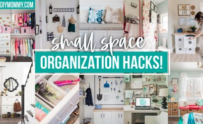 10 DIY Small Space Organization Hacks