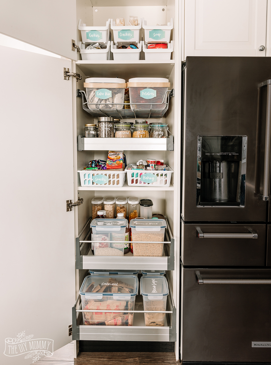 Budget Friendly Small Pantry Organization Ideas