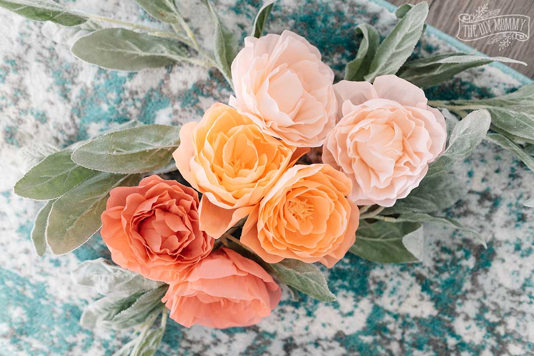 Learn how to make realistic crepe paper peonies with the Cricut Maker