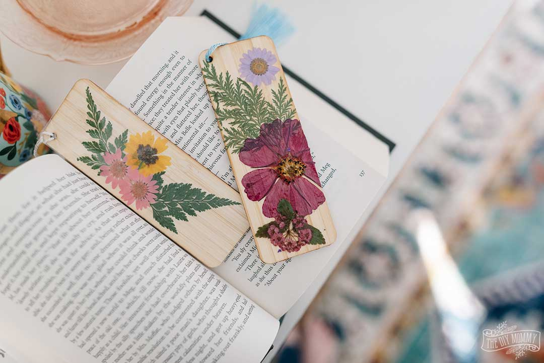 Pressed Flower DIY Ideas
