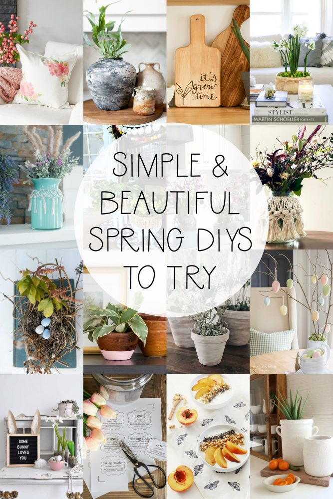 Simple and Beautiful Spring DIYs to Try
