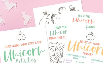 Free Unicorn Activity Pack Printable
