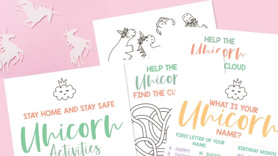 Free Unicorn Activity Pack Printable