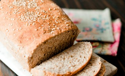 This whole wheat honey sourdough bread recipe is simple to make, requires few ingredients, and tastes hearty & delicious.