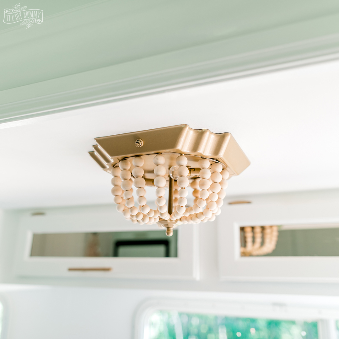 Ceiling Light Diy 7 Boho Makeover The Diy Mommy