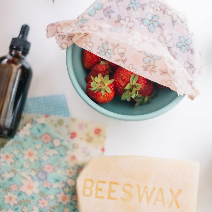 How to make a beeswax wrap that's extra sticky