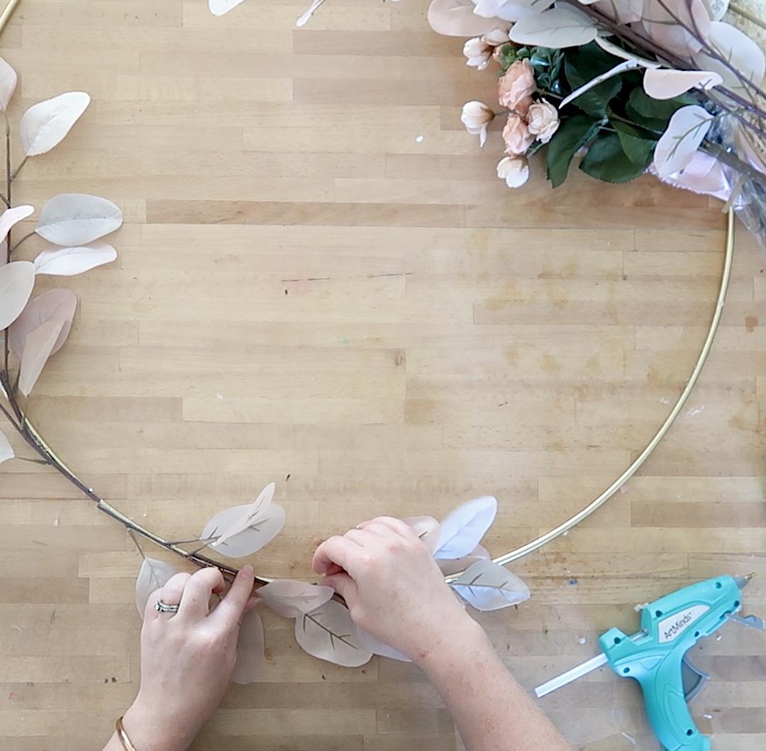 DIY Romantic Boho Fall Wreath