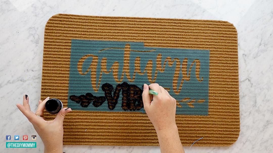 How to make a door mat with a Cricut