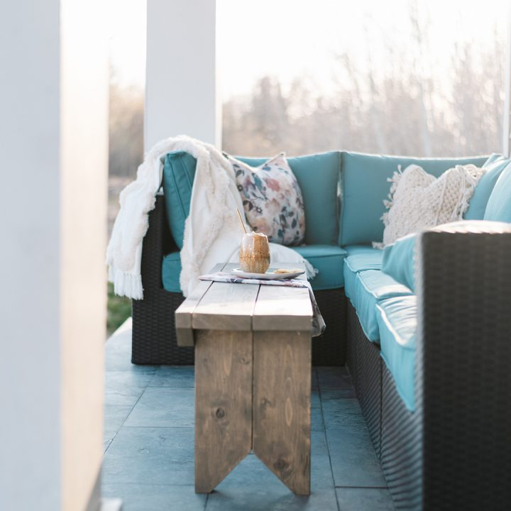 How to Build a DIY Rustic Bench
