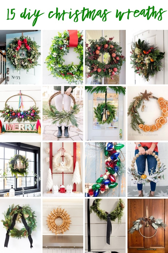 12 DIY Christmas Wreath Ideas