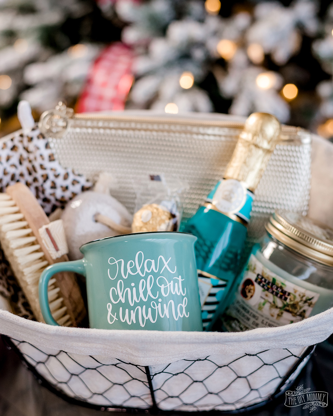 DIY Gift Basket Ideas using dollar store items + personalized details!