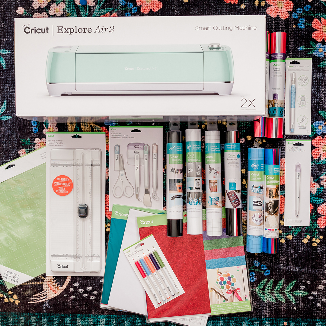 Enter to win a Cricut Explore Air™ 2, Mint + Everything Bundle from The DIY Mommy!