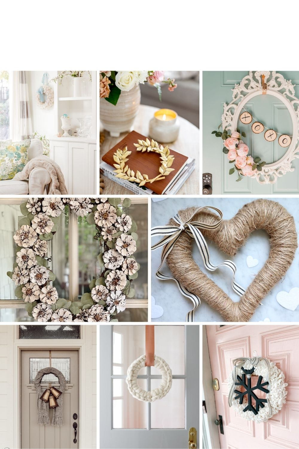 8 DIY Winter Wreath Ideas