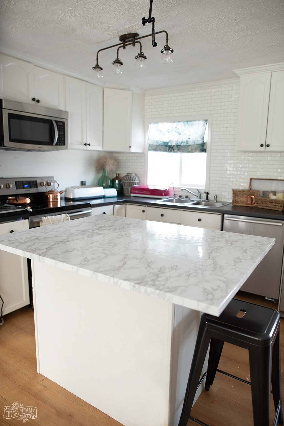 Learn how to install contact paper countertops step by step, everything you need to know, and my best tips and tricks