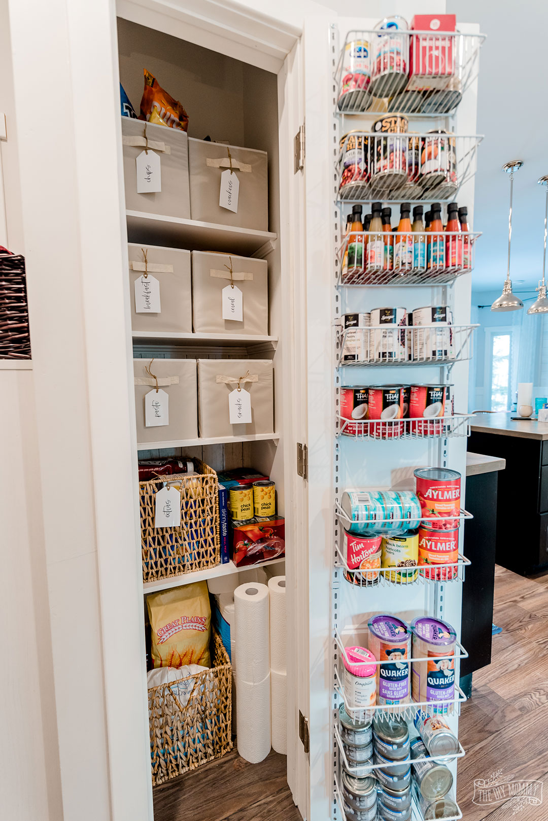 Useless Closet To Small Pantry Makeover The Diy Mommy