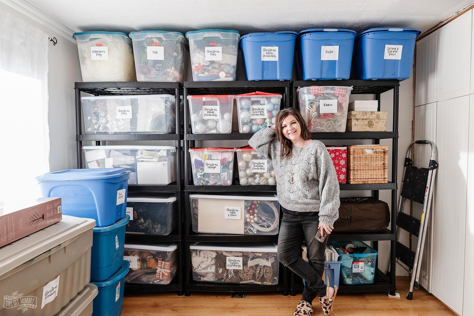 7 Simple & Practical Storage Room Organization Tips