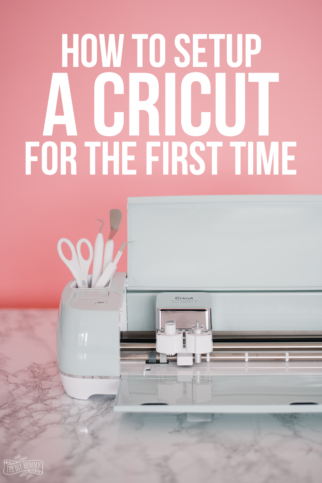 How to setup a Cricut for the first time
