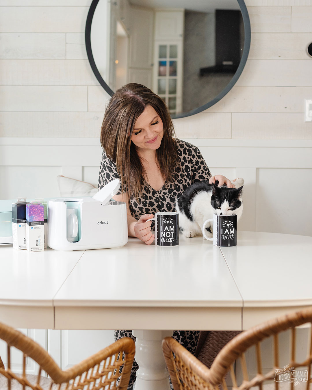 The Cricut Mug Press is here, and you can make professional looking, dishwasher safe mugs with with beautiful designs. Here's how!